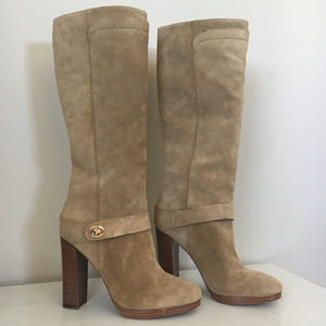 NWOT Coach Knee High Boots